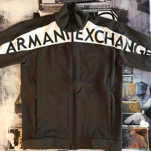 🆕 Armani Exchange Bold Logo Track Jacket